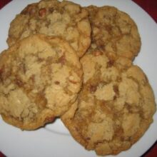 cinnamon toffee cookies