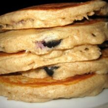 bluberry pancakes 008