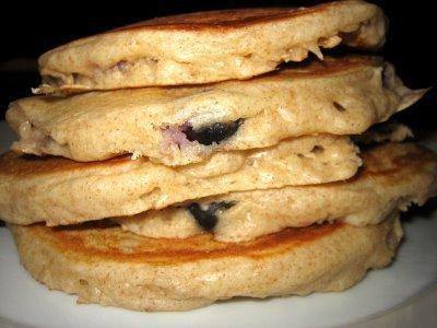 Blueberry Buttermilk Pancakes | Two Peas & Their Pod