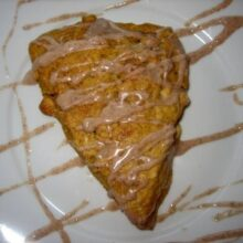 pumpkin scones gram crackers 024