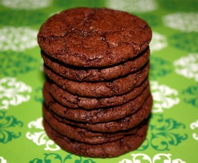 Recipe for Cocoa Fudge Cookies