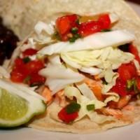 salmon tacos, deep dish, lemon, choc. toffee, hummus, waffle yog 021