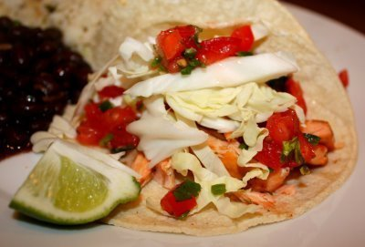 Recipe for Salmon Tacos