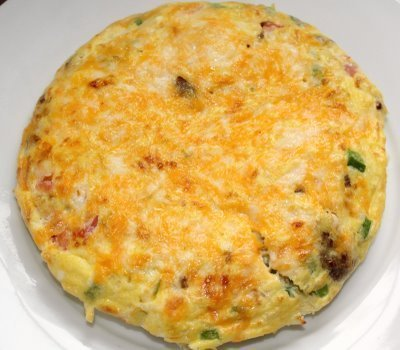 Recipe for Sausage and Cheese Frittata