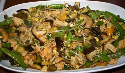 Recipe for Tofu Vegetable Stir Fry