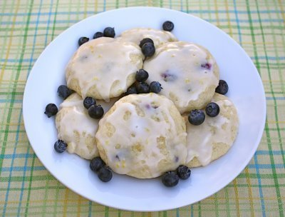 Recipe for Lemon Blueberry Buttermilk Cookies