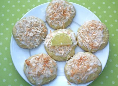 Recipe for Toasted Coconut Lime Cookies