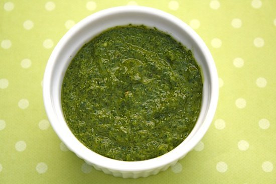 "Recipe for Basil Pesto without Nuts or ""Pistou"""