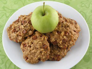 Recipe for Apple Cinnamon Oatmeal Cookies