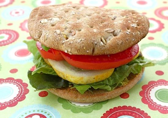 Vegetable Hummus Sandwich | Two Peas & Their Pod