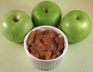 Crockpot (Slow Cooker) Chunky Cinnamon Applesauce