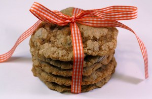 Whole Wheat Chocolate Chip Oatmeal Cookies