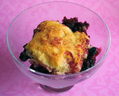 Mixed Berry Cobbler Recipe