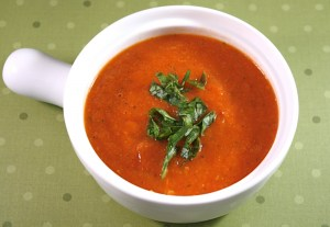 Slow Roasted Tomato and Roasted Red Pepper Soup