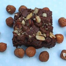 Hazelnut Cinnamon Brownies