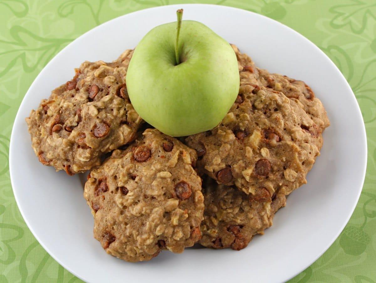 Recipe for Apple Cinnamon Oatmeal Cookies