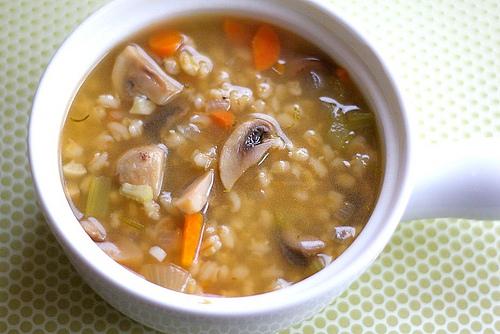 mushroom-barley-soup