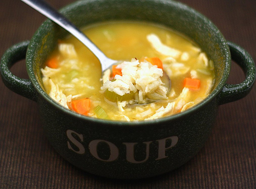 Easy Chicken and Rice Soup Recipe