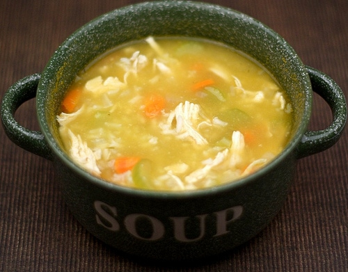Easy soup recipe with chicken