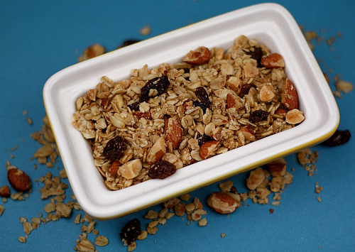 Maple Almond Granola Recipe
