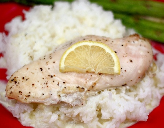 Creamy Lemon Chicken and Rice Recipe