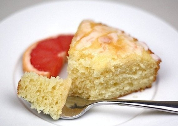 Pink Grapefruit Yogurt Cake Recipe