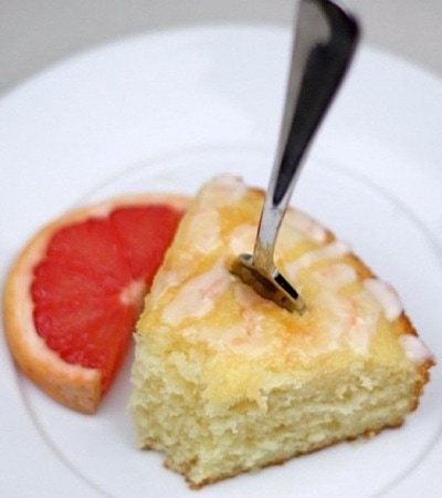 Pink Grapefruit Yogurt Cake Recipe | Two Peas & Their Pod