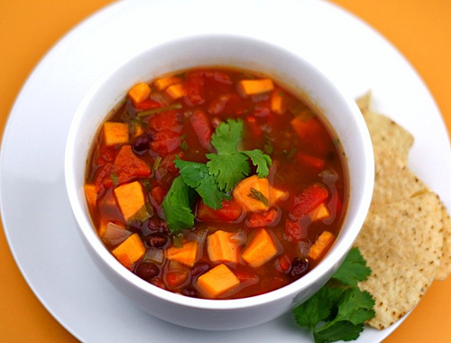 Black Bean, Sweet Potato, And Red Quinoa Soup Recipe ...
