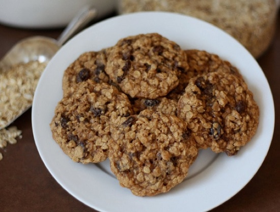 Oatmeal raisen cookies recipe