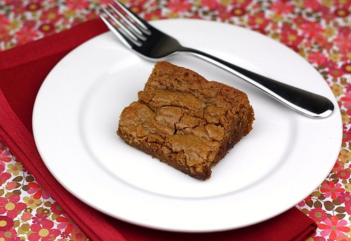 Caramel Chocolate Blondies Recipe