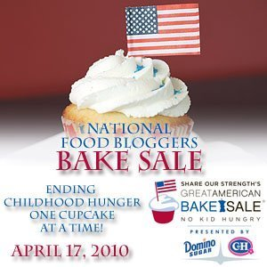National Food Bloggers Bake Sale