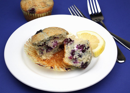 Blueberry Lemon Cream Cheese Muffin Recipe