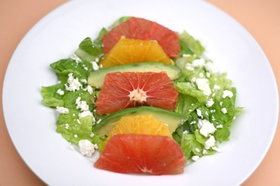 Grapefruit, Orange, and Avocado Salad Recipe
