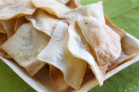 Homemade Baked Tortilla Chips Recipe