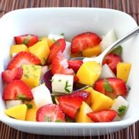 straw mango salad 1