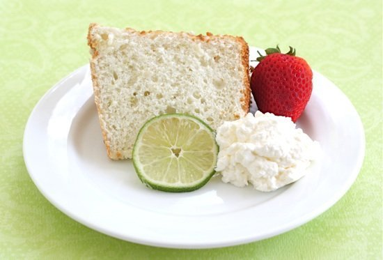 Lime Angel Food Cake Recipe | Two Peas & Their Pod