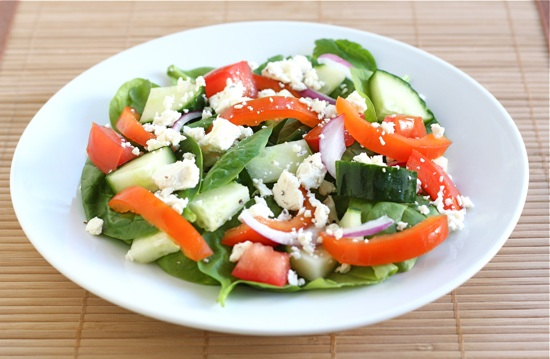 Easy spinach salad recipes