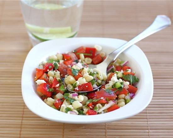 Sweet Corn Salad | Two Peas & Their Pod