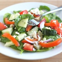easy green salad