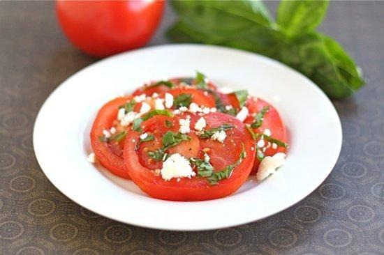 Tomato Feta Salad | Two Peas & Their Pod