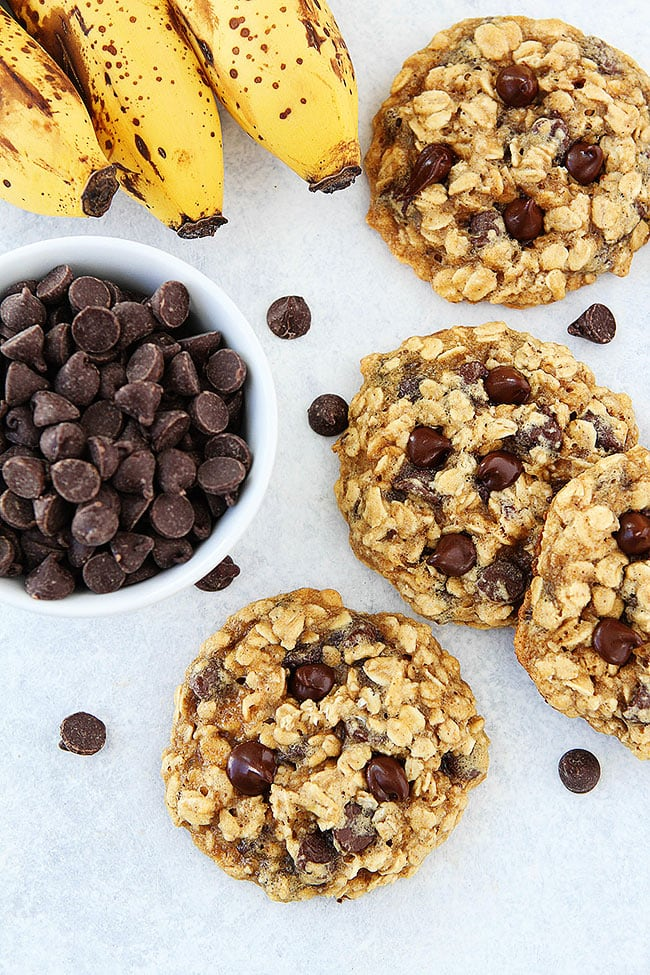 banana-oatmeal-cookies
