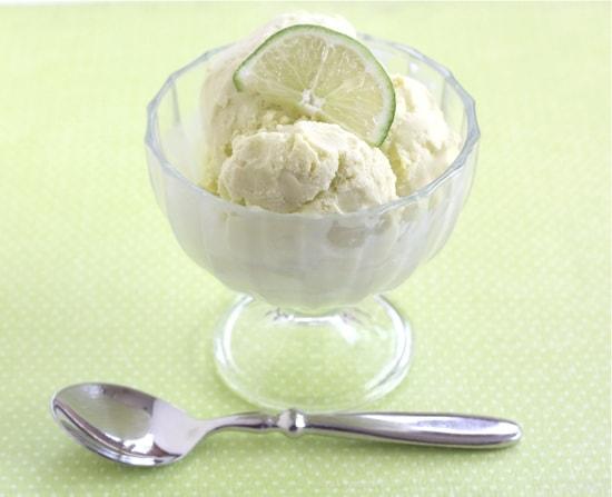 Lime Ice Cream | Two Peas & Their Pod