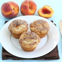 peaches n cream muffins