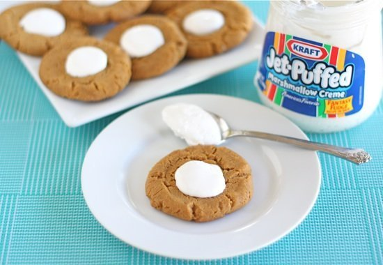 Fluffernutter Cookies | Two Peas & Their Pod