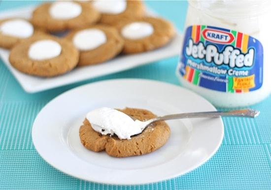 Fluffernutter Cookies | Two Peas & Their Pod