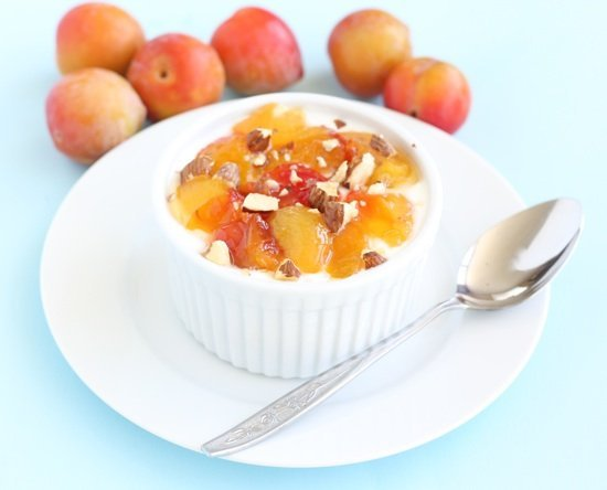 ... rice chai spiced brown rice pudding the tender shiny plums melted