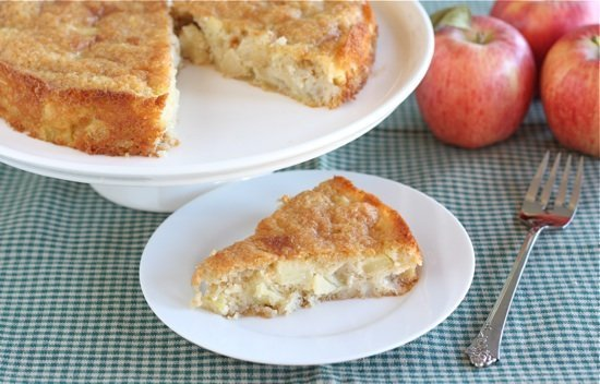 Marie-Helene's Apple Cake | Two Peas & Their Pod