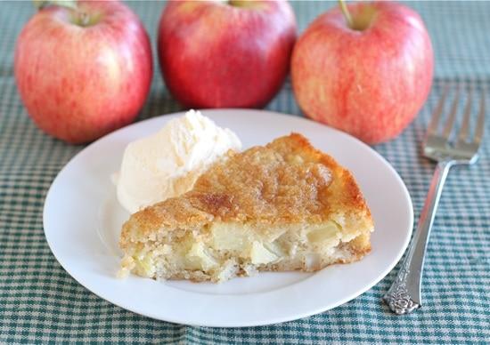 Marie-Helene's Apple Cake | Two Peas & Their Pod
