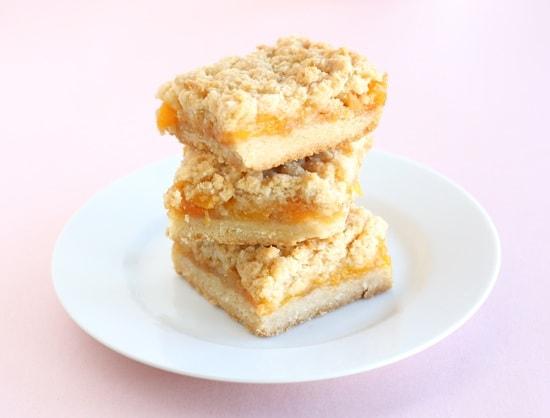 Peach Crumb Bars | Two Peas & Their Pod