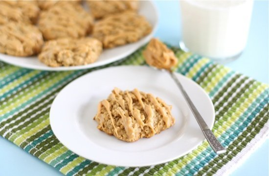 Peanut Butter, Banana and Honey Cookies by Two Peas and Their Pod